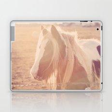 Horse in Springtime Sun Laptop & iPad Skin