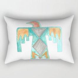 Thunder Bird Tribal Design Rectangular Pillow