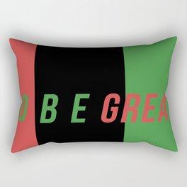 GO BE GREAT Rectangular Pillow