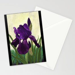 Purple Iris DP150530 Stationery Cards