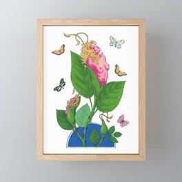 Dismorphia Rosa Framed Mini Art Print