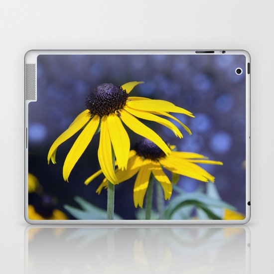Black-eyed Susan Laptop & iPad Skin