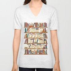 Go to the library Unisex V-Neck