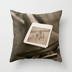 Bicycle, Cubed Throw Pillow