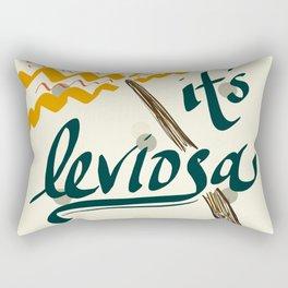 It's Leviosa Magic Wand Design Rectangular Pillow