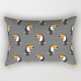 TOUCANS PATTERN tropical toucan Rectangular Pillow