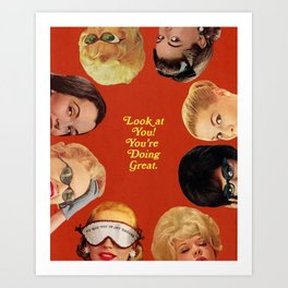 Look at You! Art Print
