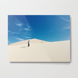 Eureka dunes Metal Print
