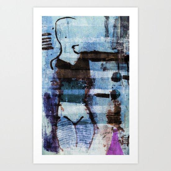 dancer 3 v2 Art Print