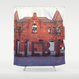 Liebe Shower Curtain
