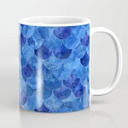 Abstract mermaid scales seamless pattern Coffee Mug