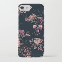 iPhone Cases featuring Japanese Boho Floral by Casey Saccomanno