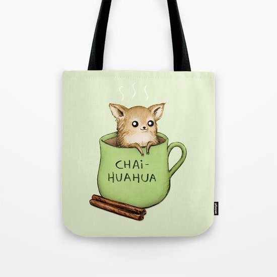 Chaihuahua Tote Bag
