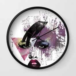 girl proud Wall Clock