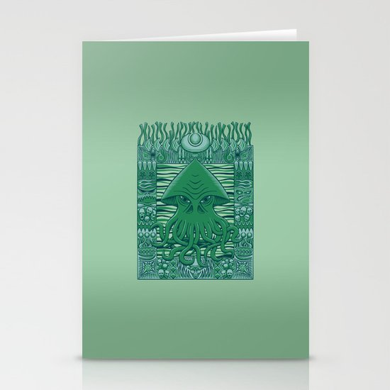Dreamer in the Deep Stationery Cards
