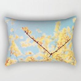 Golden Fall Rectangular Pillow