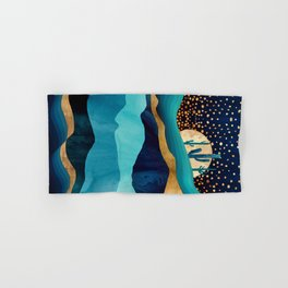 Indigo Desert Night Hand & Bath Towel