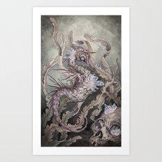 When the Seas Rise Art Print