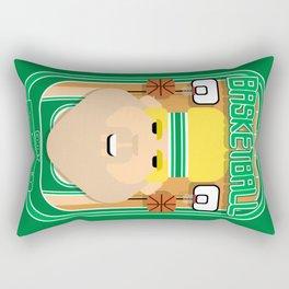 Basketball Green - Court Dunkdribbler - Sven version Rectangular Pillow