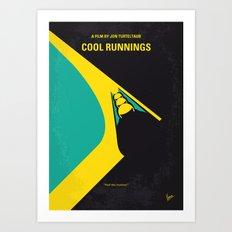 No538 My COOL RUNNINGS minimal movie poster Art Print
