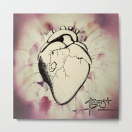 Sounds of my Heart Metal Print