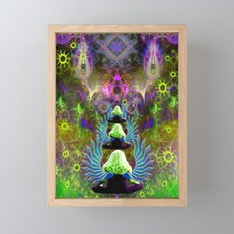 Featherweight Lucidity Framed Mini Art Print
