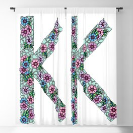 K Initial Blackout Curtain