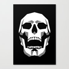Grim Geometry Canvas Print