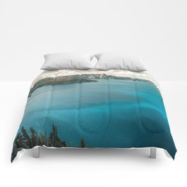 Summer At The Lake Comforters