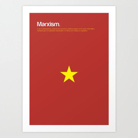 Marxism Art Print