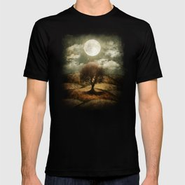 Once upon a time... The lone tree. T-shirt