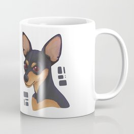 PINSCHER DOG Coffee Mug