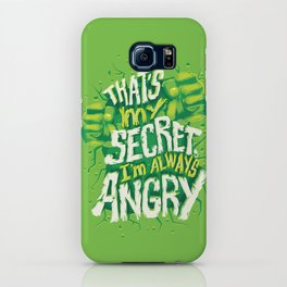 I'm always angry iPhone Case