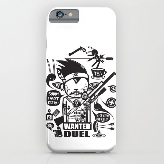 SORRY I MUST KILL YOU ! - DUEL iPhone & iPod Case