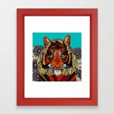 tiger chief Framed Art Print