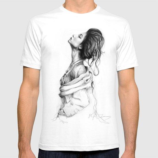 Pretty Lady Illustration Woman Portrait Beauty T-shirt