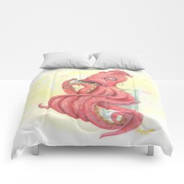 Dapper Squid Comforters