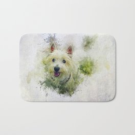 West Highland White Terrier Bath Mat