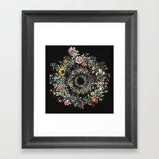 Circle of Life Dark Framed Art Print