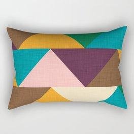 Kilim Chevron Rectangular Pillow