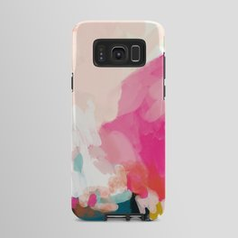 pink sky Android Case
