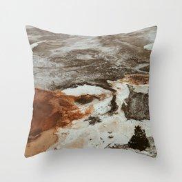 Wyoming/Mars Throw Pillow
