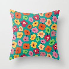BP 13 Flowers Throw Pillow