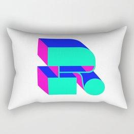 Letter R Rectangular Pillow