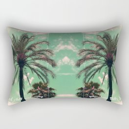 Just chill and relax Rectangular Pillow