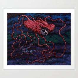 The Afterman Art Print