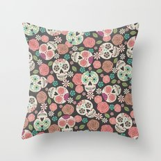 Sugar Skulls Throw Pillow