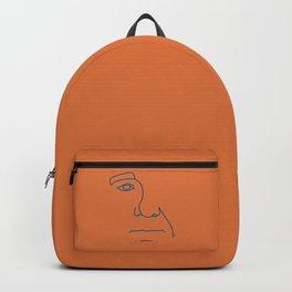 Bill- Orange-Blue palette Backpack