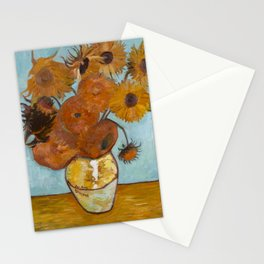 Sunflowers for Amy, a Vincent Van Gogh Copy Stationery Cards