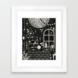 Moon Altar Framed Art Print